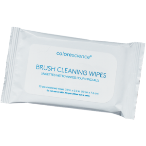 Brush wipes